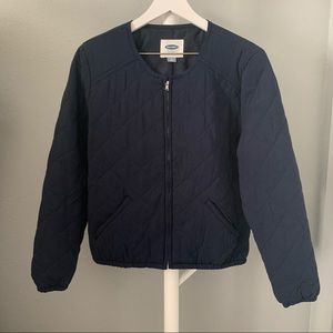 Old Navy Quilted Bomber
